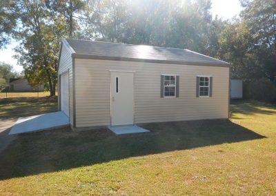 20x20 Steel frame garage