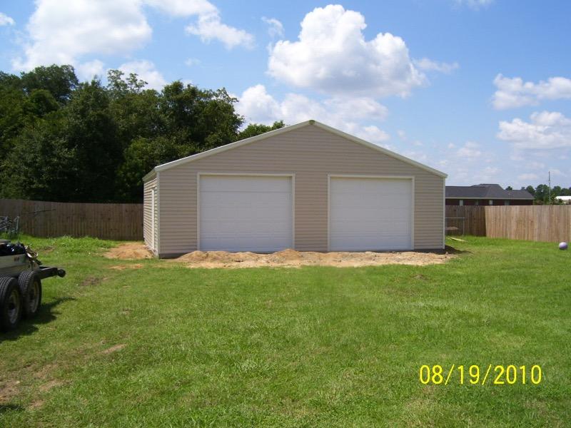 Steel Frame Garage : Steel frame garages southern building structures