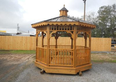 Gazebo 10x10 metal roof