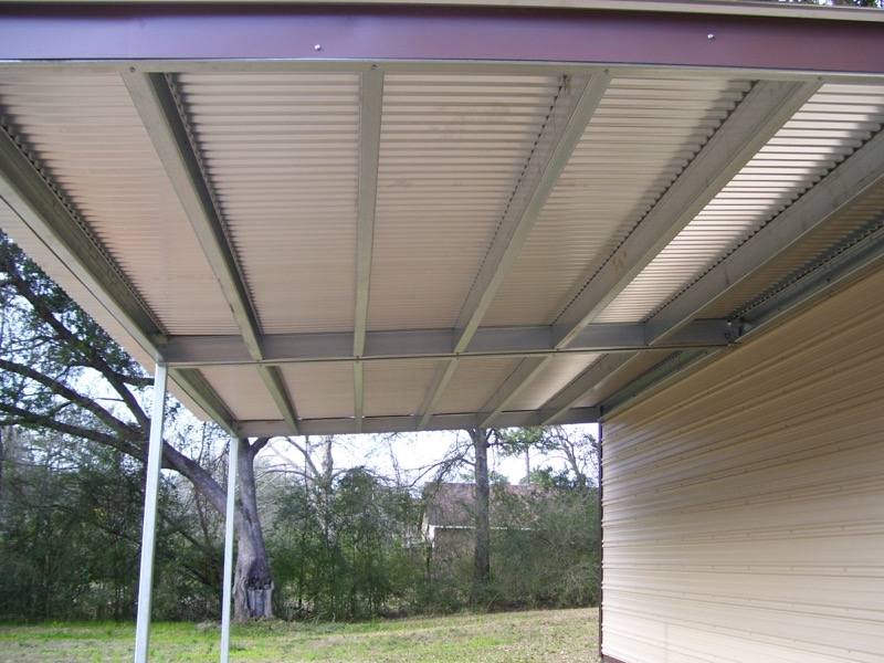Lean-To | Southern Building Structures | Mobile Alabama and Baldwin ...