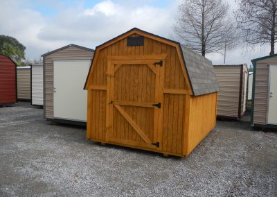 wood portable building 8x12