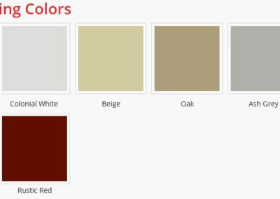 Thrifty siding colors